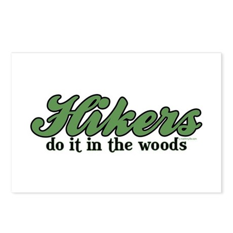 Hikers Do It In the Woods Postcards (Package of 8)