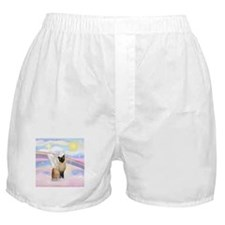 Clouds / Siamese Boxer Shorts
