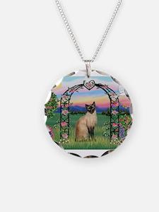 Rose Arbor / Siamese Necklace