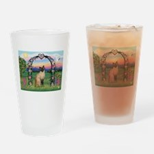 Rose Arbor / Siamese Drinking Glass