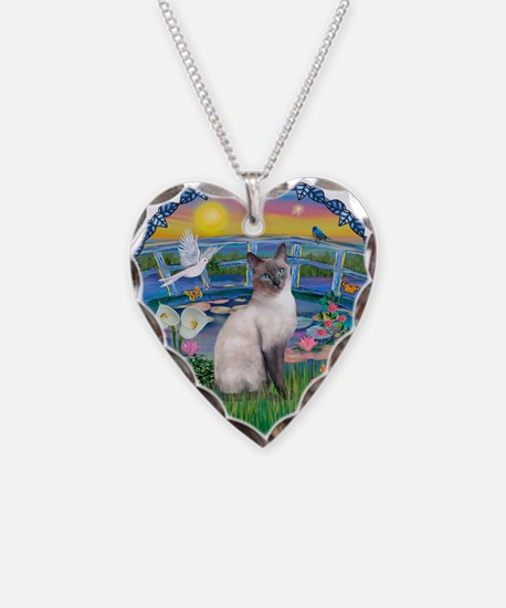 Lilies(JF)/Siamese Cat 24 ( Necklace
