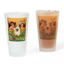 Angels / Siamese Drinking Glass
