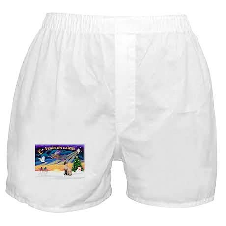 Peace / Siamese Cat Boxer Shorts