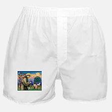 St Francis / Siamese Boxer Shorts