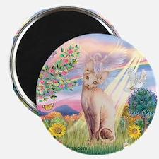 Cloud Angel & Sphnx cat Magnet