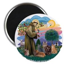 St Francis / 4 Cats Magnet
