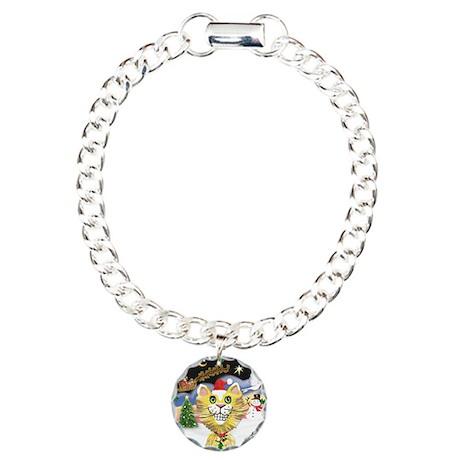 TakeOff2-CCat (Y) Charm Bracelet, One Charm