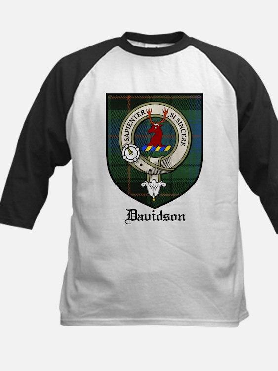 Davidson Clan Crest Tartan Tee