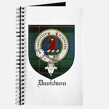 Davidson Clan Crest Tartan Journal