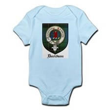Davidson Clan Crest Tartan Infant Creeper