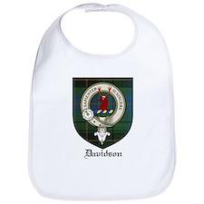 Davidson Clan Crest Tartan Bib