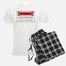 Attitude Electrician pajamas
