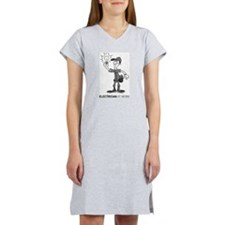Electrician At Work Women's Nightshirt