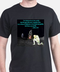 Moonbowing John 3:16 T-Shirt