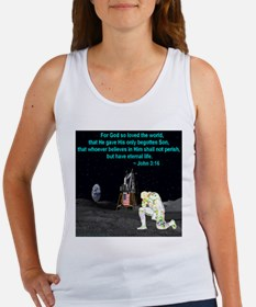 Moonbowing John 3:16 Women's Tank Top
