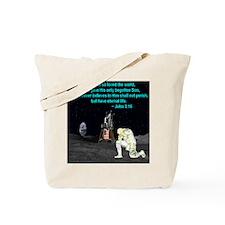 Moonbowing John 3:16 Tote Bag