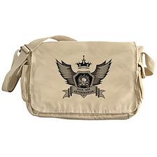 Kick Ass Veterinarian Messenger Bag