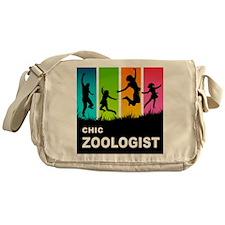 Chic Zoologist Messenger Bag