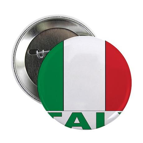 """Italy Flag 2.25"""" Button"""