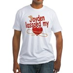 Jayden Lassoed My Heart Fitted T-Shirt