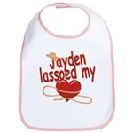 Jayden Lassoed My Heart Bib