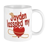 Jayden Lassoed My Heart Mug