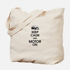 Keep Calm & Motor On Mini Tote Bag
