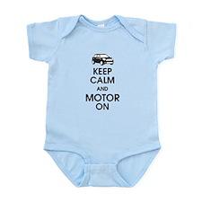 Keep Calm & Motor On Mini Infant Bodysuit