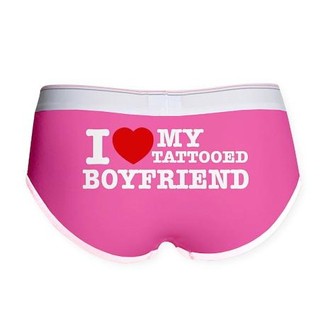 I love my Tattooed Boyfriend Women's Boy Brief