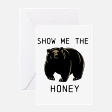 Cute Show me money Greeting Card