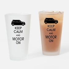 R56 Keep Calm, Carry On Mini Drinking Glass