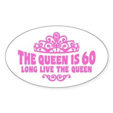 Funny 60th Birthday Decal