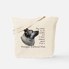 Elkhound Mom Tote Bag