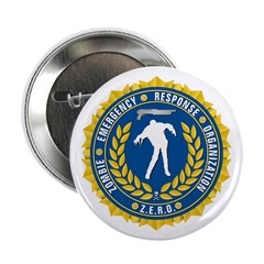 """Zombie Emergency Response Org 2.25"""" Button"""
