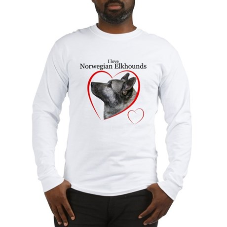 Norwegian Elkhound Long Sleeve T-Shirt