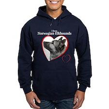 Norwegian Elkhound Hoodie