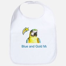 Blue and Gold Macaw Bib