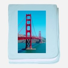 San Francisco Golden Gate baby blanket