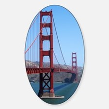 San Francisco Golden Gate Decal
