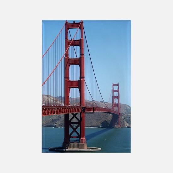 San Francisco Golden Gate Rectangle Magnet
