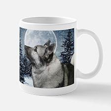 Norwegian Elkhound Small Mugs