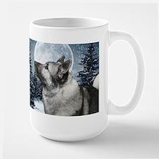 Norwegian Elkhound Ceramic Mugs