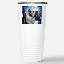 Norwegian Elkhound Travel Mug