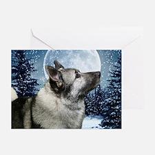 2010 Norwegian Elkhound Cards (Pk of 20)