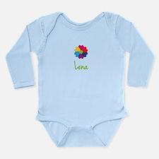 Lena Valentine Flower Onesie Romper Suit