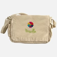 Priscilla Valentine Flower Messenger Bag