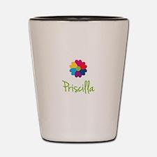 Priscilla Valentine Flower Shot Glass