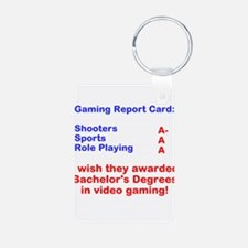 Gaming Report Card Keychains