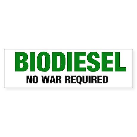 No War Required Bumper Sticker