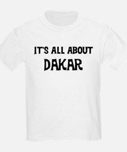 All about Dakar Kids T-Shirt